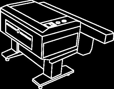 ikona cięcie Laserem